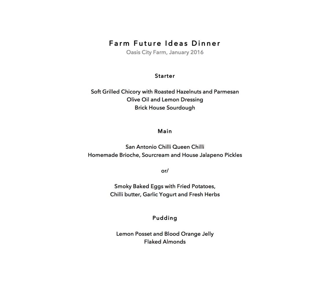 Farm Future Ideas Dinner